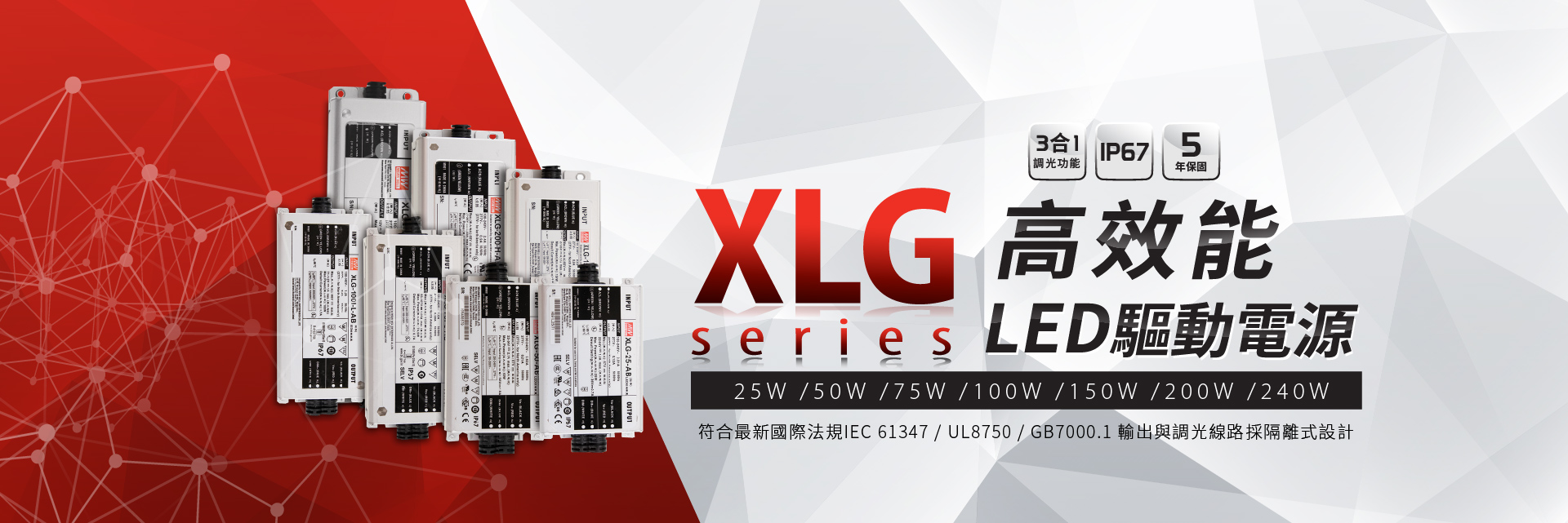 XLG 電源