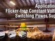 定電壓無頻閃電源供應器調光應用